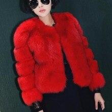 Urumbassa women's Faux fur coat Fashion warmed short coat Spring/Autumn/winter Plus size XXXL jackets