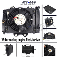 Water cooling engine cooler Radiator cooling 12v fan for motorcycle 200cc 250CC moto Quad 4x4 ATV UTV parts NEW