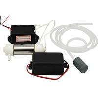 1 Set Ozongenerator 220 v 500 mg/u Water Luchtsterilisator Ozon Water Luchtreiniger Ozongenerator + Pijp + Luchtpomp + Air Stone
