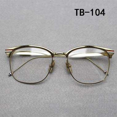 gold vintage glasses frame women men retro round metal eyeglasses frame bronze myopia glasses classical eyewear