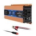 Автомобильный преобразователь Onever, 2600 Вт, 12 В постоянного тока в 220 В переменного тока