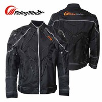 2017 New Winter Warm Man Riding Tribe Motorcycle Jacket With Carbon Fiber Shoulder Windproof Moto Protection