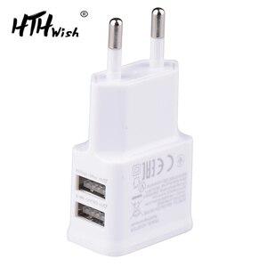 5V 2A Plug Dual Double USB Cha