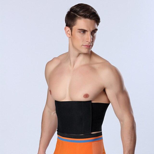 Slimming Belly Belt PRAYGER Sauna Sweat Shaper Neoprene Waist Cinchers Men Control TummyTrimmer Band Big Belly Girdle 1