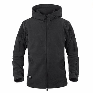 Image 3 - Winter Military Tactical Fleece Jacket Military Uniform Soft Shell Fleece Hoody Jacket Men Thermal Hoodie Coat