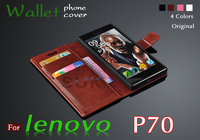High Quality Flip Leather Cover Lenovo P70 Case New Wallets Mobile Phone Bags For Lenovo P