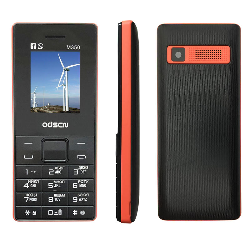 Dual Sim FM Radio Bluetooth Loud Speaker Mobile Phone Cheap China Gsm Cell Phones Russian Keyboard Button ODSCN M350