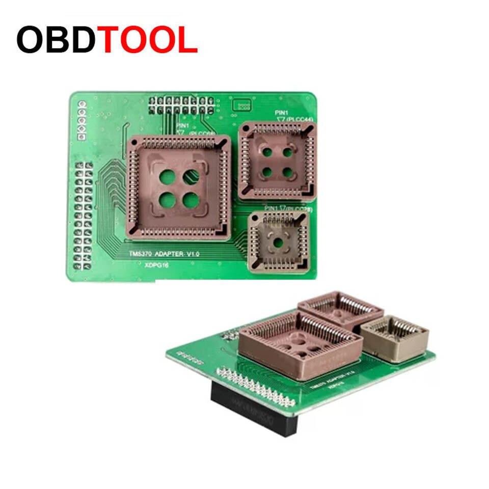 Hot TMS370 PLCC28 PLCC44 PLCC68 Adapter for VVDI Prog Read Write TMS370 PLCC28 Package Chip