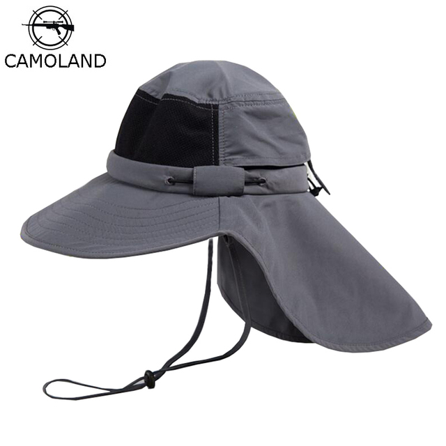 Summer Sun Hat Men Boonie Hats Nepalese Cap Bucket Hat Army Mens