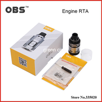 Original OBS Engine RTA Tank 5 2ml Side Filling Top Airflow Design Rebuildable Atomizer Full Glass