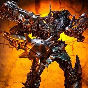 Image 3 - BMB LS05 LS 05 Grimlock del metallo Della Lega Movie Film Oversize allargata Leader antico Action Figure Robot dinosauro Deformato Giocattoli