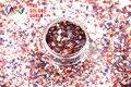 RH321-247 Mix Colors Mix Colors Dot shapes round Glitter for nail art ,nail gel, nail polish makeup and DIY decoration