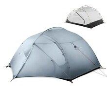 3F UL GEAR 3 شخص 4 الموسم 15D خيمة التخييم في الهواء الطلق خفيفة المشي لمسافات طويلة الظهر الصيد مقاوم للماء الخيام لوح أرضي