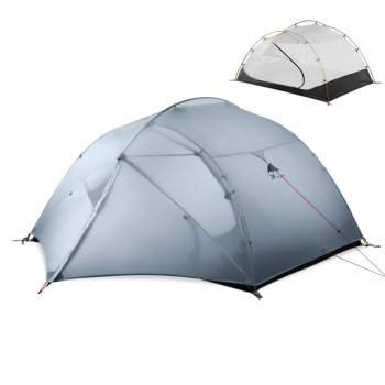 3F UL GEAR 3 Person 4 Season 15D Camping Tent Outdoor Ultralight Hiking Backpacking Hunting Waterproof Tents Ground Sheet hunting season