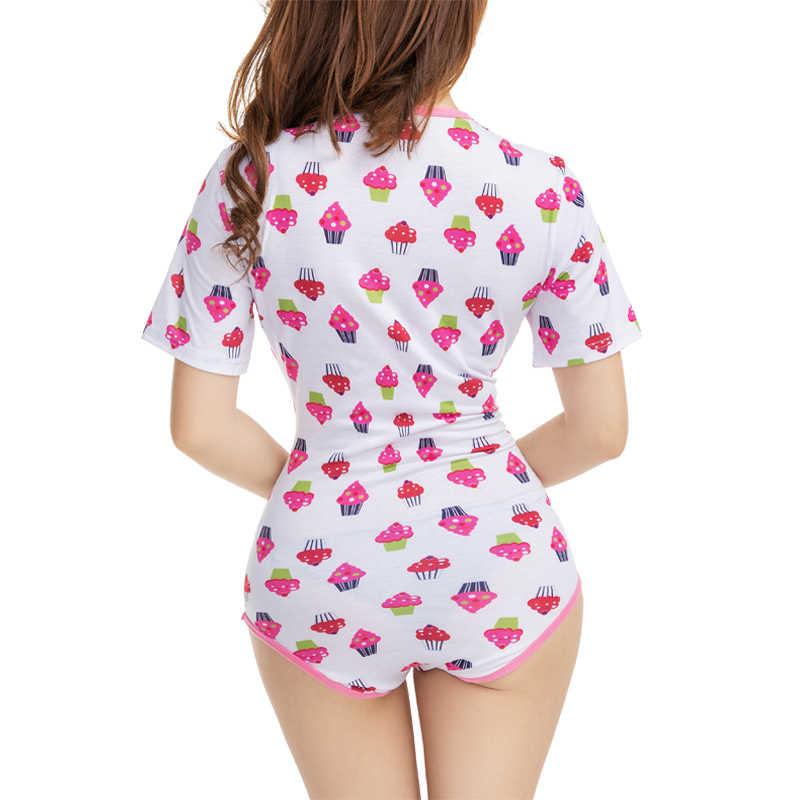 f4f481442 ... Adult Cartoon Cake Pajamas Cute Abdl Onesie Baby Girl Women High-end  Short-sleeved ...