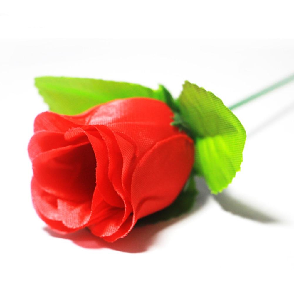 Presente Clássico Chama Aparecem Flor Tocha Para Rose-Ilusão de Fogo Brinquedos Dia Dos Namorados Prop Magia Magia de Palco Bar Fun mágico profissional