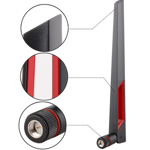 Image 4 - 12/18dbi 범용 안테나 증폭기 듀얼 밴드 WIFI 안테나 2.4G 5G 5.8Gh RP SMA 남성 WLAN 라우터 안테나 부스터