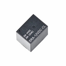 20 pcs/lot SRA-12VDC-CL20A 12V DC 5 pin HFKW Mini Power Relay TI