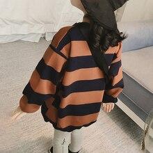 Baby Girl Clothes Sweatshirt Stripes Long Sleeve