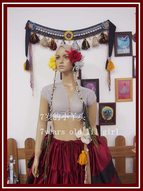 Transparent Thin Belly Dance Top CUA02-07