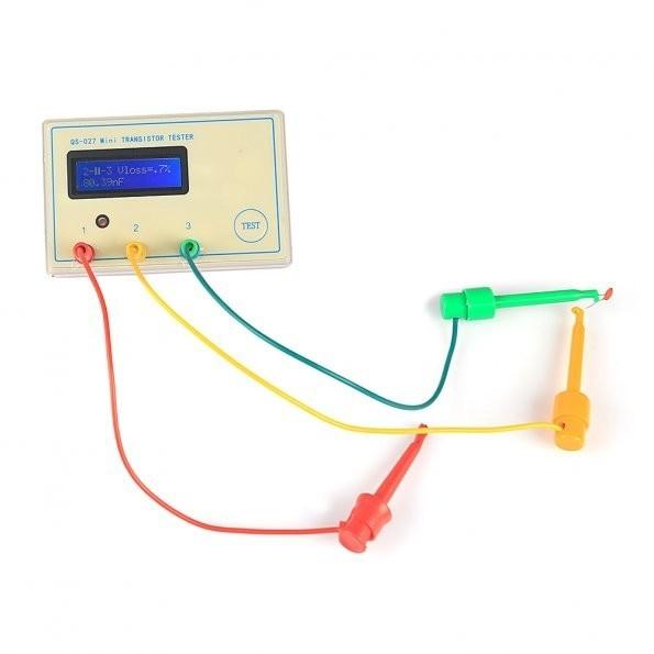MINI mega328 Transistor Tester module Capacitor ESR Inductance Resistor Meter LCR NPN PNP MOS