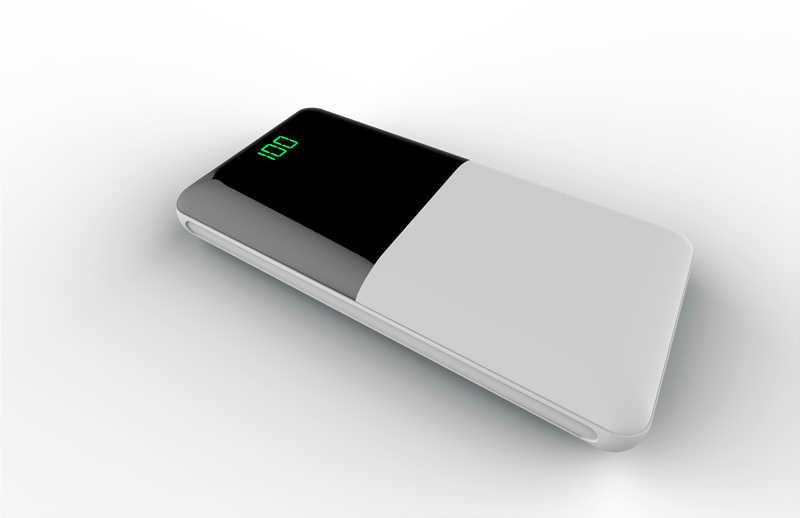 Baru 20000 MAh Tampilan Digital Mobile Power 18650 Besar Power Power Bank Pengisian Eksternal Baterai untuk Xiaomi Mix 2 redmi
