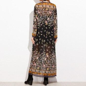 Full-Length Floral Kimono 4