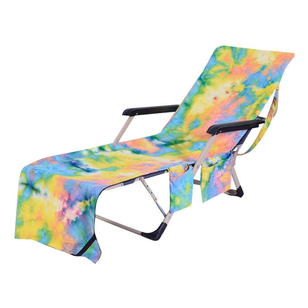 Tampa da Cadeira de praia Toalha Tampa Toalha Para Piscina Espreguiçadeira Chaise Lounge Cadeira do Hotel de Férias de Praia Cobertor z0405 # G20