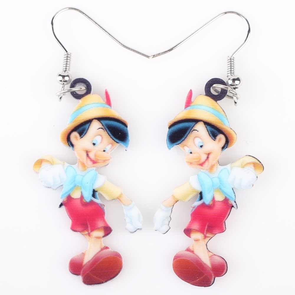 Newei Long Drop Brand Lovely Big Nose Boy Earrings Acrylic Hot  Jewelry Girls Women Cartoon Children Earrings Accessories
