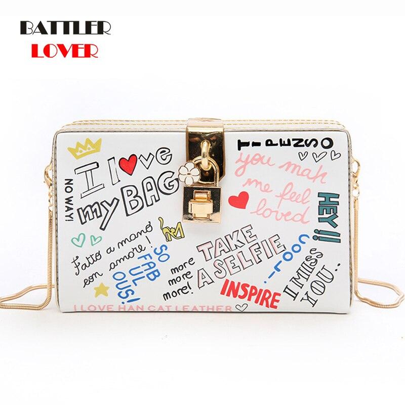 Letter Printing Bags for Women 2019 Bags Womens Handbag Bolsa Feminina Shoulder Messenger Bag Luxury Handbags Women Satchels Bag