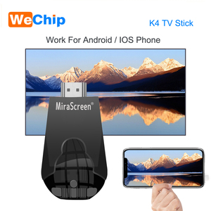 Image 1 - Mirascreen K4 TV Stick 2.4G Wireless WiFi Display Dongle Support 1080P HD Miracast Airplay For Android IOS Smart Phone Table PC