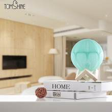 creative energy saving Spherical night light 16 color light adjustable modern pastoral birthday gift linen table lamp(China)
