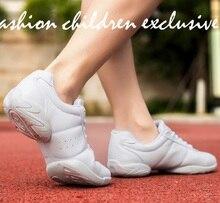 2019 Танцевальные Кроссовки для взрослых и детей современная практика танцевальная обувь для девочек гибкий Джаз Хип-хоп женские танцевальные туфли фитнес человек размер 28-46