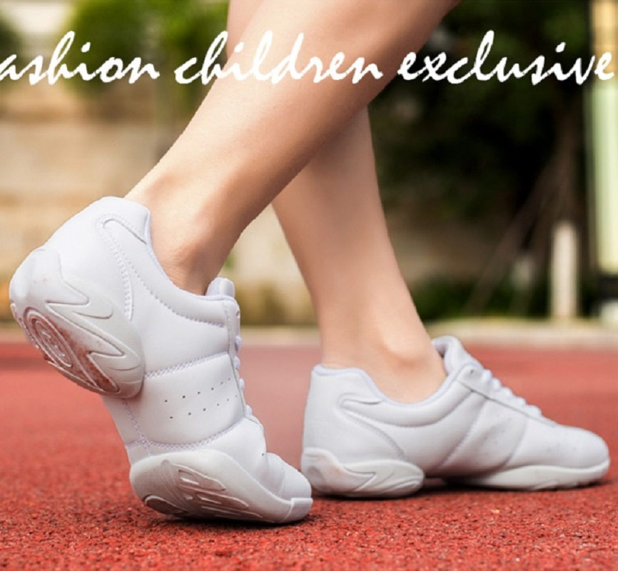 2021 Dance Sneakers for Adults and children Modern Practice Dance Shoes Girls Flexible Jazz Hip Hop Shoes Fitness Man Size 28 46