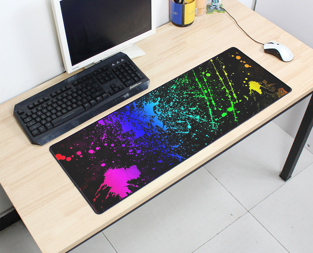 Impressive Non Skid Rubber Large Gaming Mouse Pad Dream Catcher Fear Pattern Mousemat Desk Pc Computer Gifts Mousepad Mouse Pads From Computer Non Skid Rubber Large Gaming Mouse Pad Dream Catcher Fear