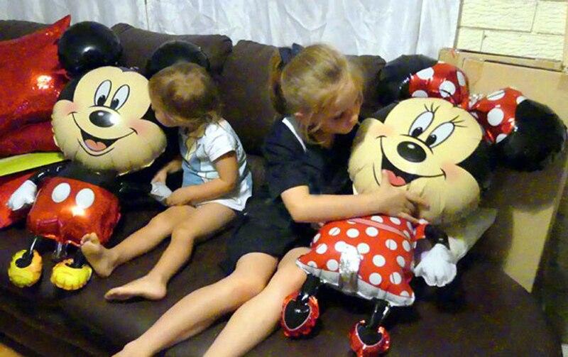 יום הולדת מיקי מאוס סוכריות בלונים מעוצבים בובה בובות להזמנה לייף-דיזיין