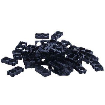 50 шт. 18650 литиевая батарея двойной держатель кронштейн для DIY батарейный блок