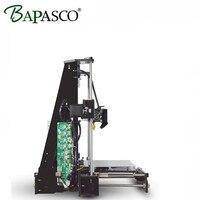 2017 BAPASCO Large Printing Size Precision Reprap Prusa I3 DIY 3D Printer Kit With Filament Card