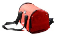 Colorful dog travel bag / carrier in 3 colors