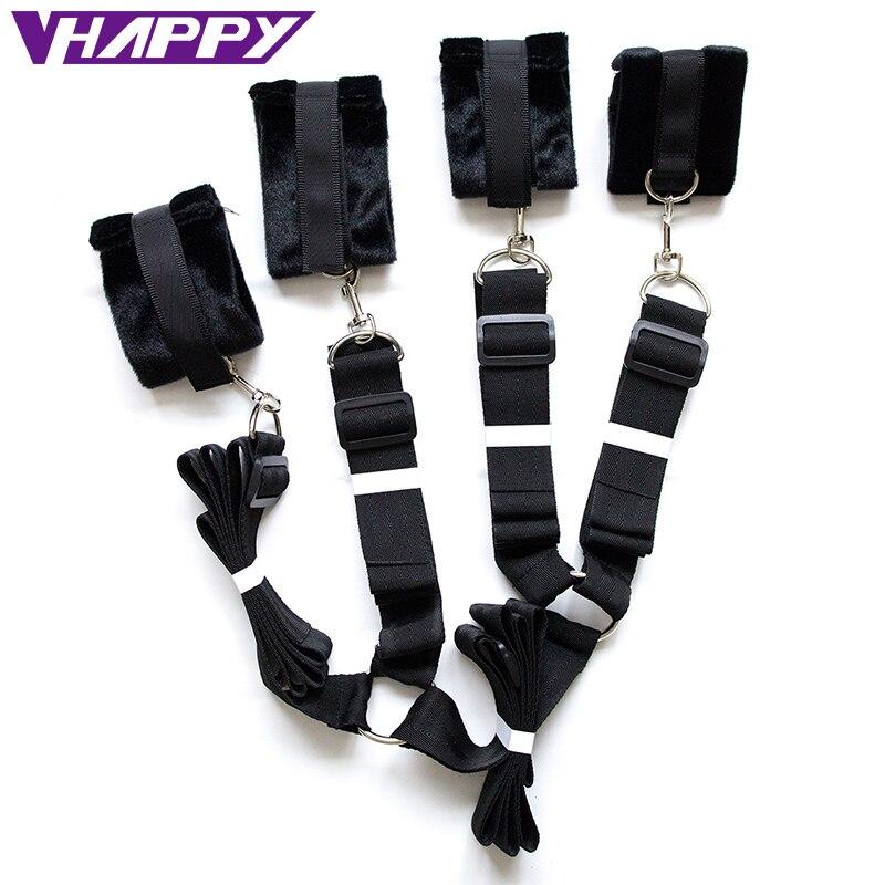 Black nylon strap on sex