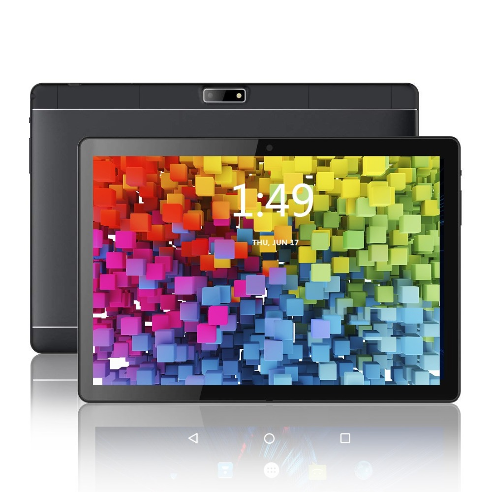 Tablet Android 8.0 OS 10.1 Inch Tablet Quad Core 2GB RAM 32GB ROM 1280*800 IPS 2.5D Glass Kids Tablets 10.1