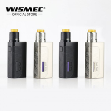 [IN STOCK]Original Wismec Luxotic MF Box Kit with Guillotine V2 RDA Tank with 7ml squonk bottle uses 21700/18650 e cigs Mech kit