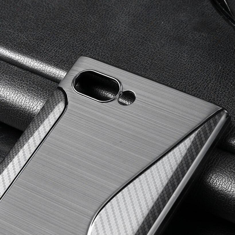 BlackBerry KEY2 Case Black Silicone Sline Flexible Bag 1