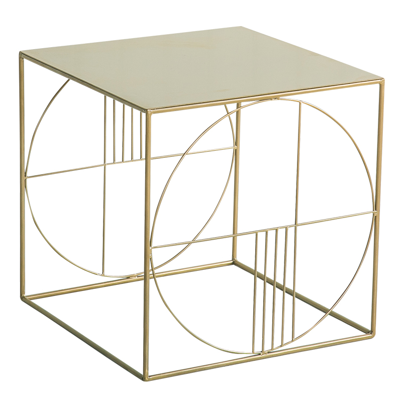 Astounding Us 109 0 Bedside Table Wrought Iron Side Simple Modern Coffee Table Nordic Sofa Side Cabinet Corner Small Square Table Side Table In Coffee Tables Short Links Chair Design For Home Short Linksinfo