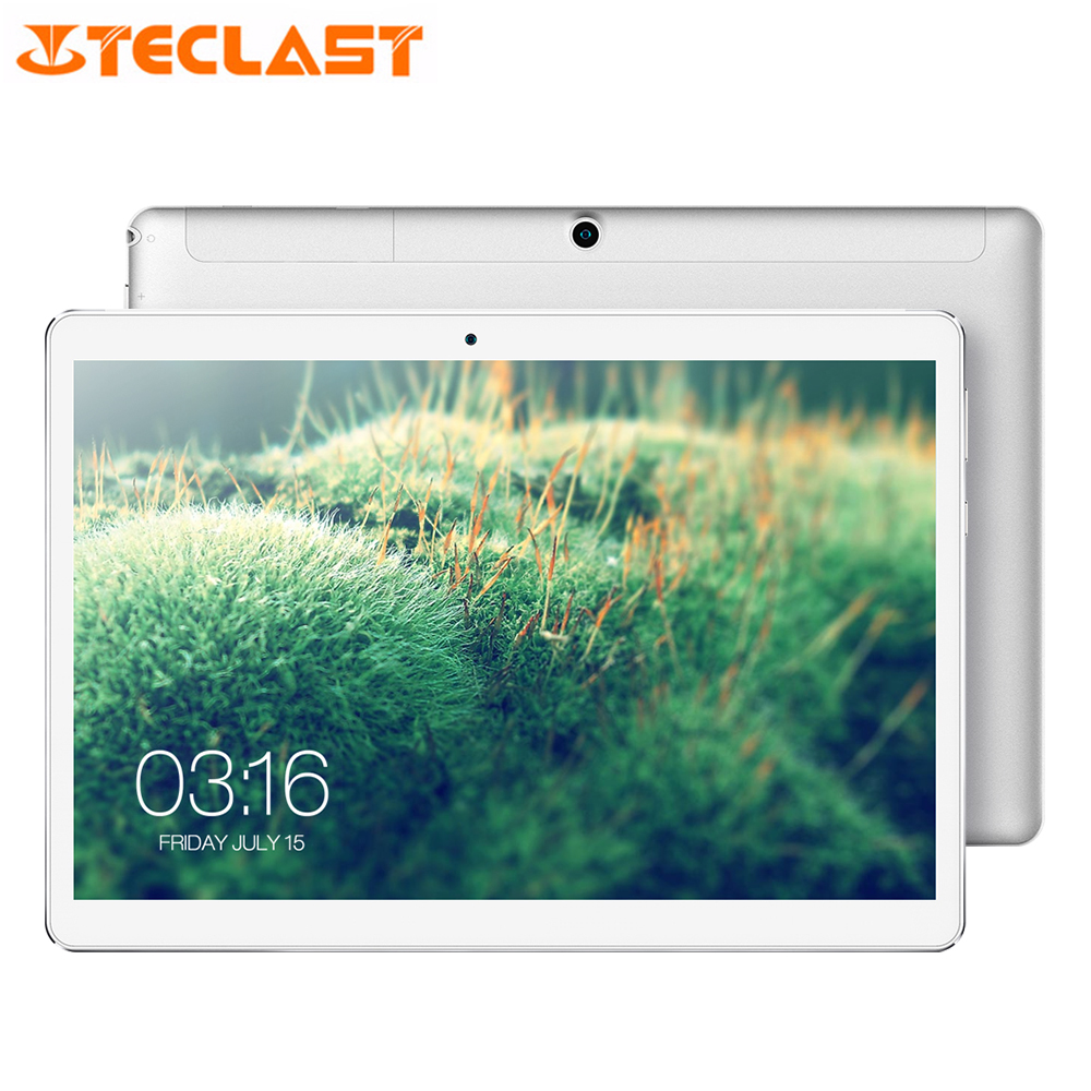 Teclast A10S 10.1 pouces 1920*1200 Android 7.0 MTK8163 Quad Core 1.3GHz 2GB RAM 32GB eMMC double caméras double WiFi GPS tablette PC