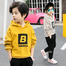Kids Clothes Boys Casual Set Kids Clothing Sets Boy Teenagers Tracksuit School Children Suit Sets Sweatshirt+Pants boys set with animal applique sweatshirt pants autumn winter children clothing sets kids back to school outfit baby boys clothes