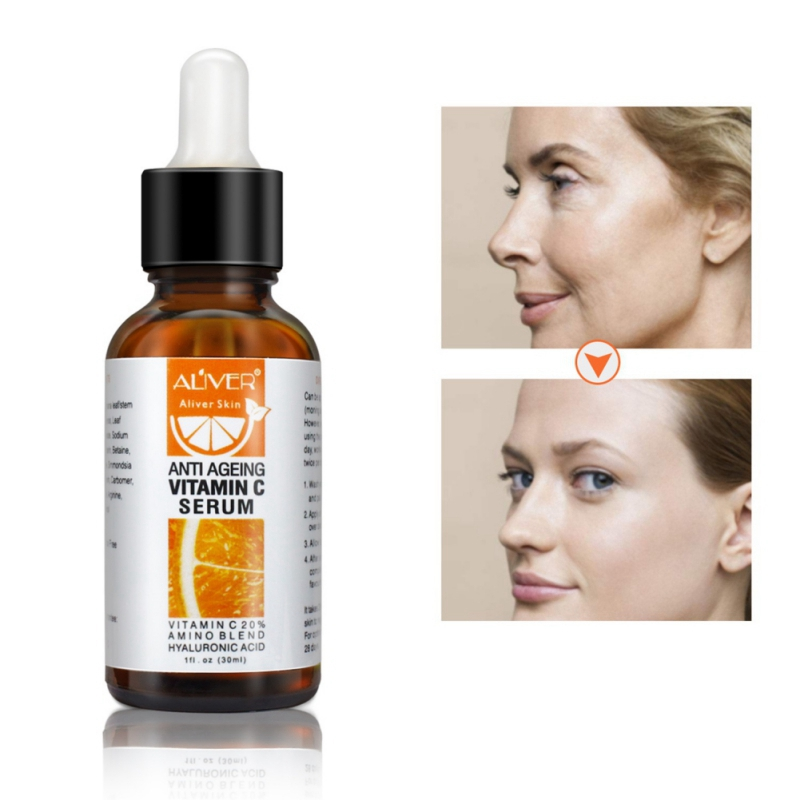 Face Facial Serum Retinol Vitamin C Serum Firming Repair Skin Anti Wrinkle Anti Acne Anti Aging Serum Skin Care 30ml