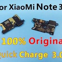 Для Xiaomi Note 3 usb зарядный порт плата зарядного устройства гибкий кабель для Xiaomi Note 3 док-станция Сменные соединительные детали