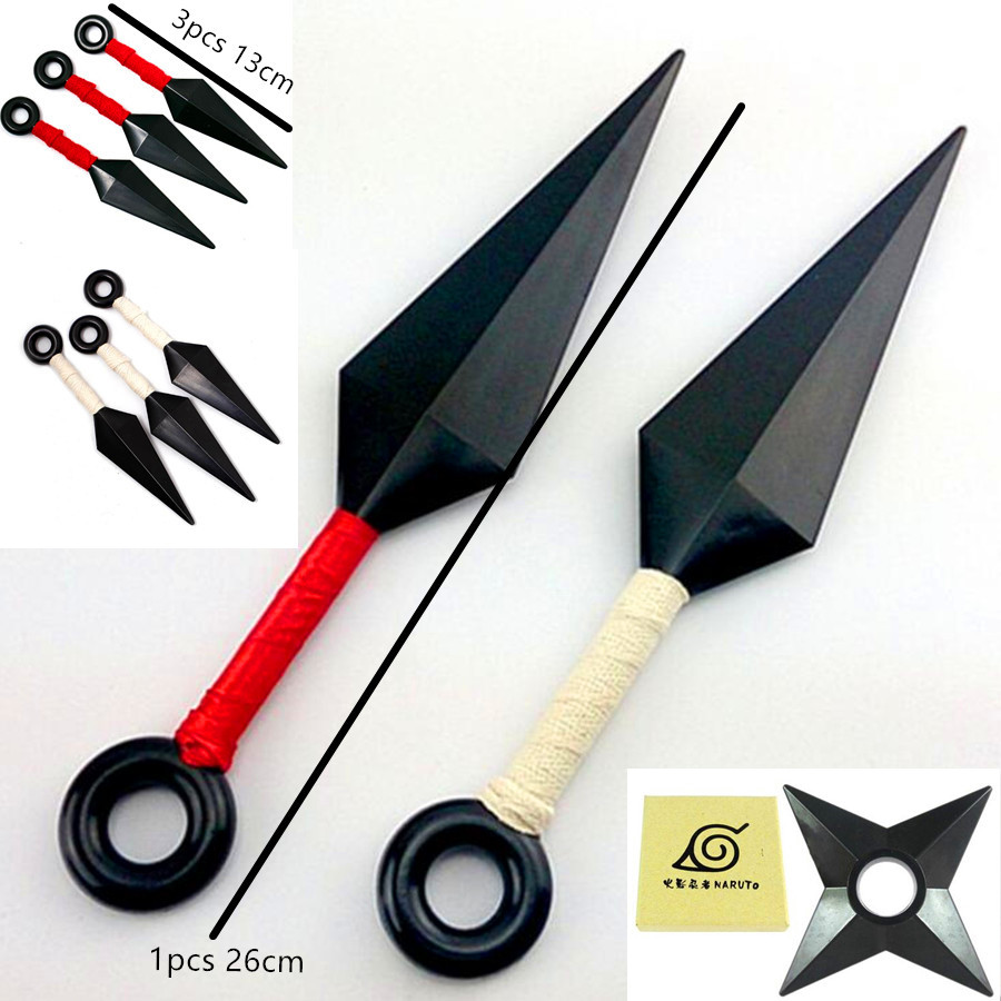 Naruto shuriken Darts cosplay Costumes Toy Accessories Weapons Armor Guard Arm Guard