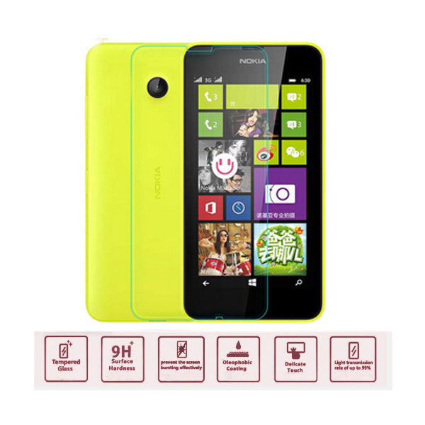 With retail package top quality deluxe Tempered Glass Screen Protector for Nokia Lumia 635 Screen front guard film free shipping